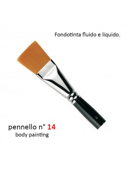 Pennello body painting n°14